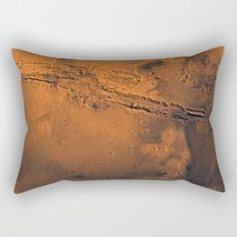 Valles Marineris, Mars Rectangular Pillow