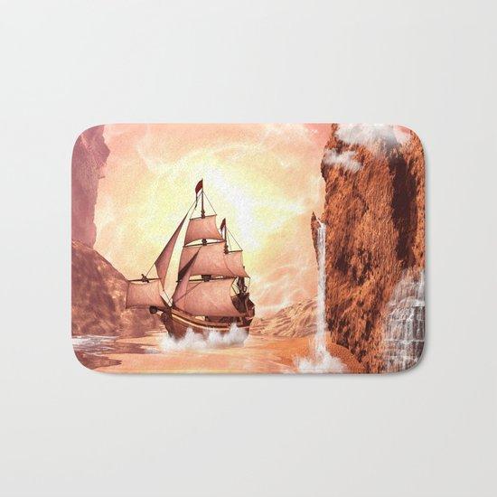 The ship Bath Mat