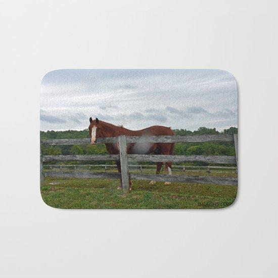 Horse Time Bath Mat