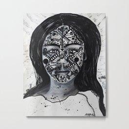 Diana of the Amazon Metal Print