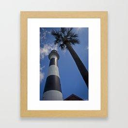 Cape Canaveral Lighthouse Framed Art Print