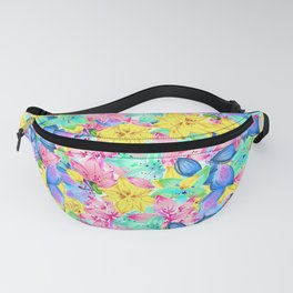 Colorful floral pattern Fanny Pack