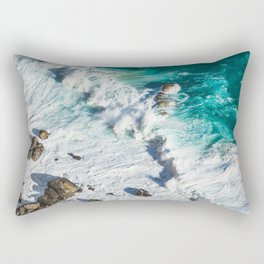Wave Break - Ocean Shores Rectangular Pillow
