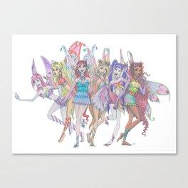 Enchantix Power! Canvas Print