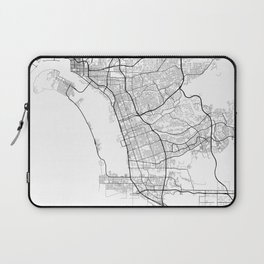 Minimal City Maps - Map Of Chula Vista, California, United States Laptop Sleeve
