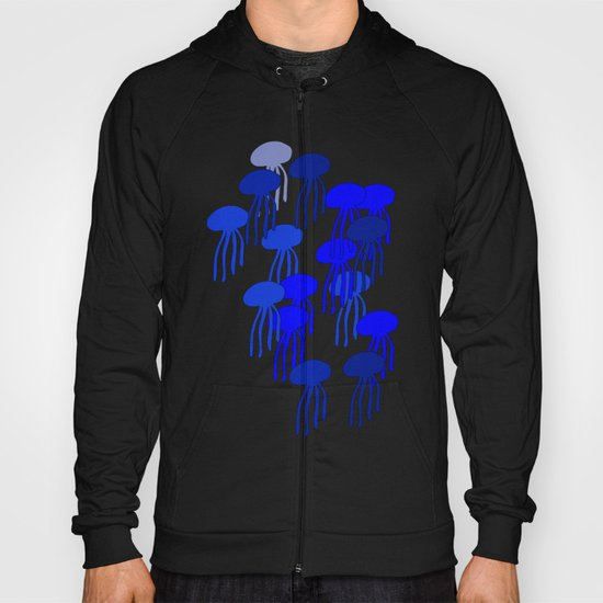 Jellyfish Blue Hoody