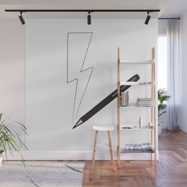 Make Your Mark Thunderbolt Wall Mural