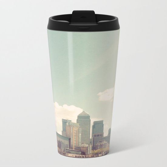 London Skyline Metal Travel Mug