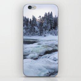 Stofrsen, biggest watterfal in Sweden iPhone Skin