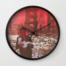 I am haunted by humans Wall Clock