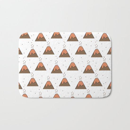 Volcano Pattern #1 Bath Mat