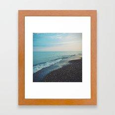 summer evenings Framed Art Print