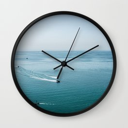 Summer Rush | Landscape Photography | Beach Wall Clock