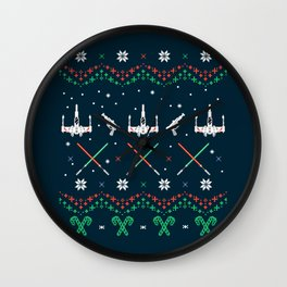 A Rogue Christmas Wall Clock
