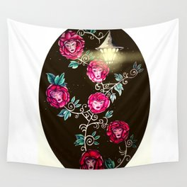 S6 (Society6) Flowers of Wonderland  Wall Tapestry