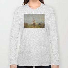 Joseph Mallord William Turner - The Sun of Venice Going to Sea Long Sleeve T-shirt