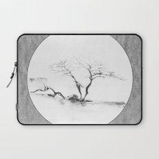 Scots Pine Paper Bag Grey Laptop Sleeve