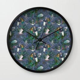 The Siren and the Sailor (La Sirène et le Marin) Wall Clock