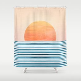Morning in Paradise ~ Tropical Sunrise Shower Curtain
