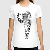 snow leopard T-shirts featuring Snow Leopard by Shahbab