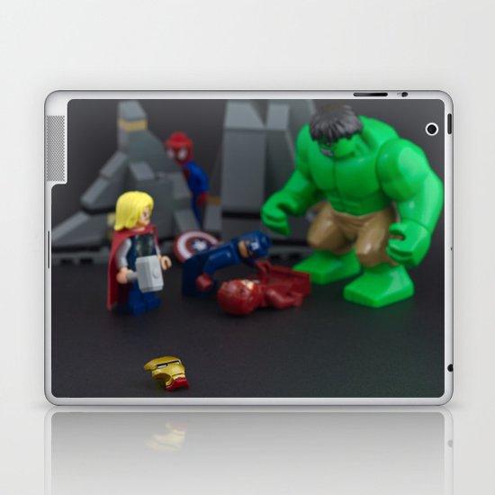 Ironman Falls Laptop & iPad Skin
