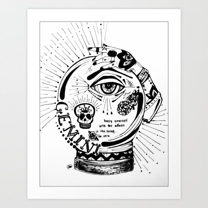 Gem Art Print By Thedb