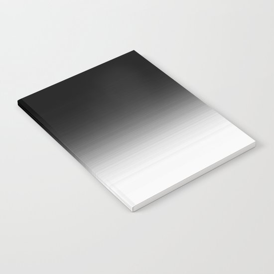 Black Ombre Notebook