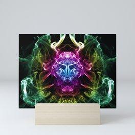 Smoke Warrior Mini Art Print