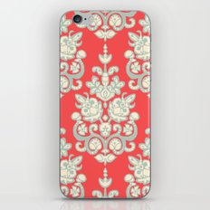 Kaksi damask ikat iPhone Skin