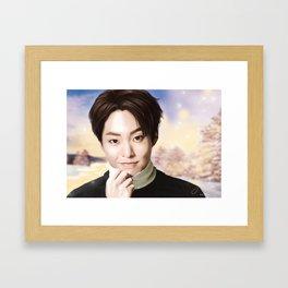 EXO Xiumin Framed Art Print
