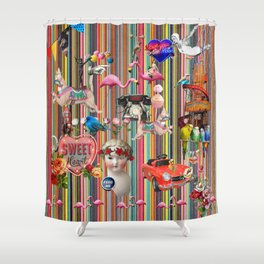 Weekend Away Shower Curtain