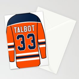 Cam Talbot Jersey Stationery Cards
