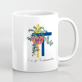 T is for Tradescantia Coffee Mug