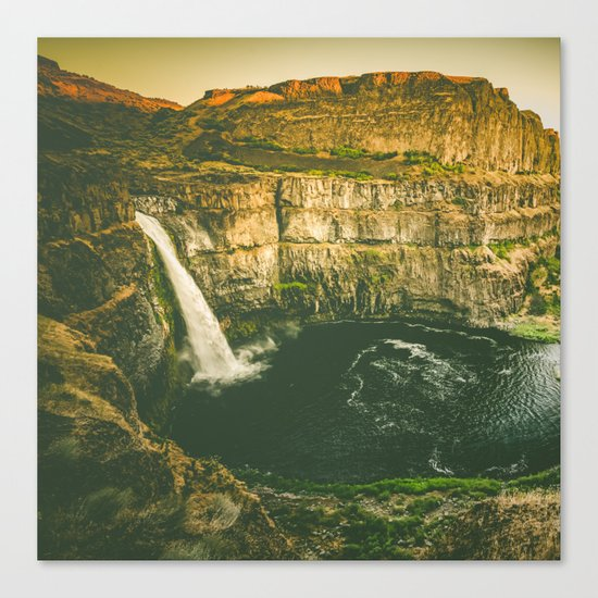 Hidden Waterfall Canvas Print