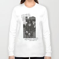 all time low Long Sleeve T-shirts featuring Alex Gaskarth - All Time Low by amy.