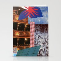 theatre Stationery Cards featuring THEATRE by Kelci Archibald