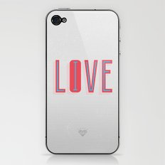Live & Love iPhone & iPod Skin