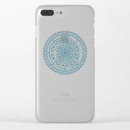 Aztecqua Clear iPhone Case