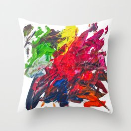 Abstract Painting 10 Throw Pillow