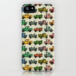 Old Timey Cars iPhone Case