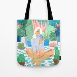 Early Lovebird Tote Bag
