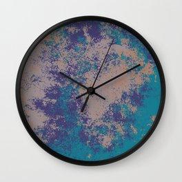Colorful Abstract Decorative Bohemian Style Pattern - Hindia Wall Clock
