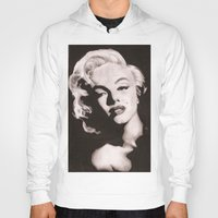 monroe Hoodies featuring Monroe by Juliana Marie