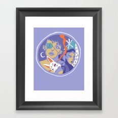 number 3 Framed Art Print