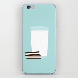 #25 Milk and Cookies iPhone Skin