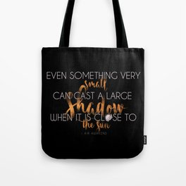 Close to the Sun - Air awakens Quote (light) Tote Bag