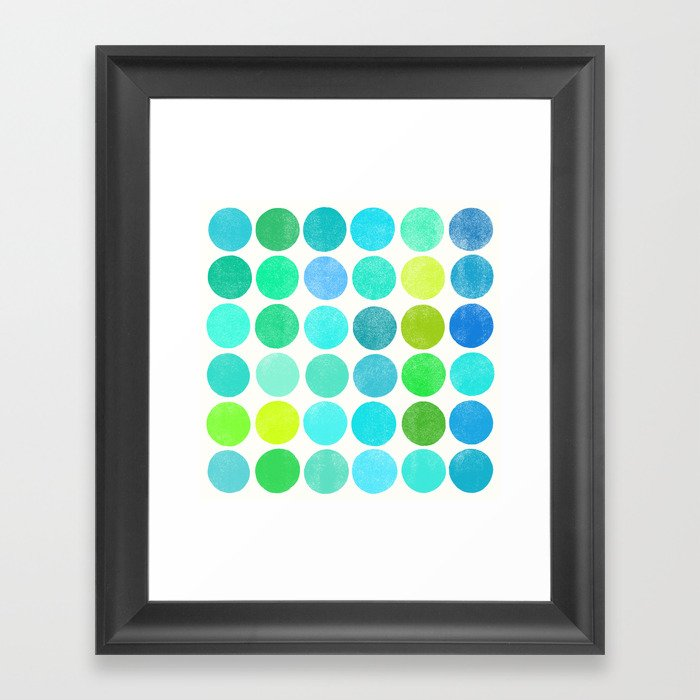 colorplay 10 Framed Art Print