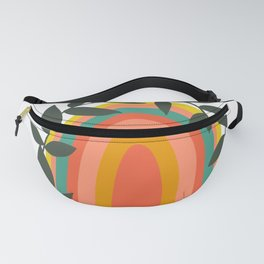 Blooming Rainbow Fanny Pack