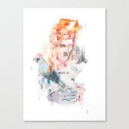 I can't speak your language Canvas Print