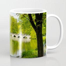 The beauty of the green around Coffee Mug